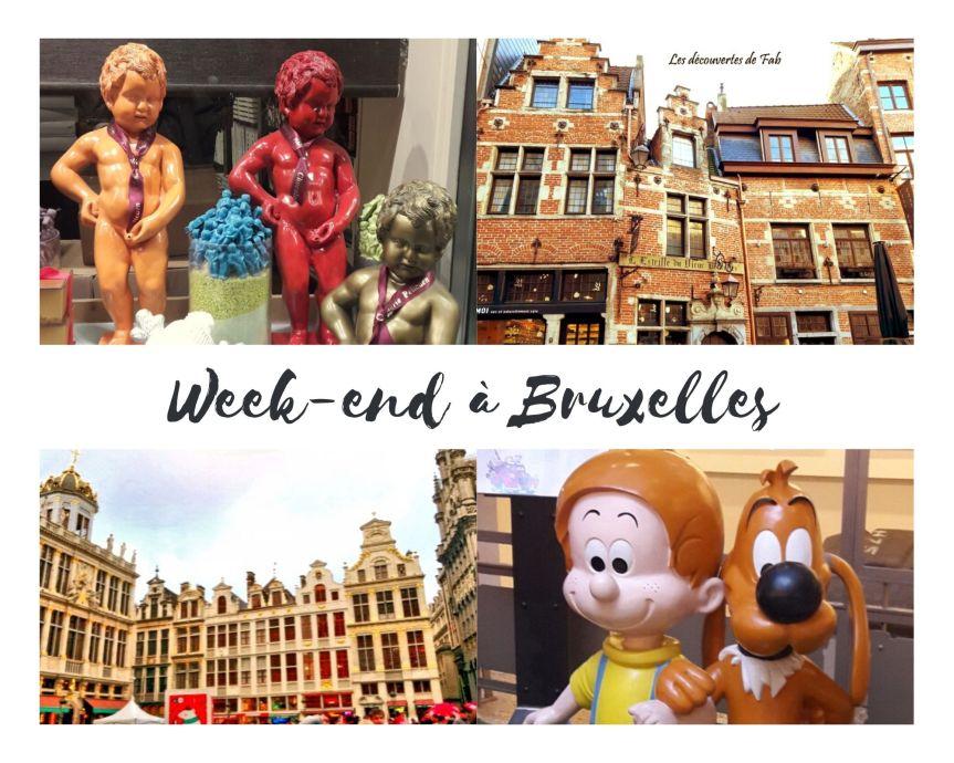 Week-end à Bruxelles, les incontournables àvisiter!