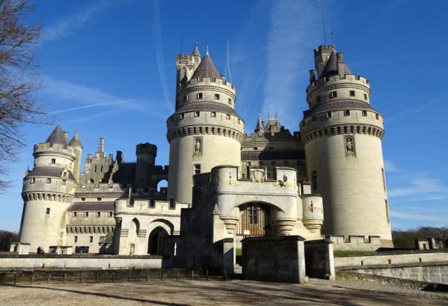 Pierrefonds, l'incontournable château del'Oise