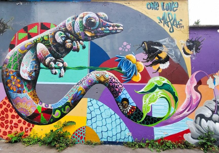 Paris : A la découverte du Street Art du canal del'Ourcq