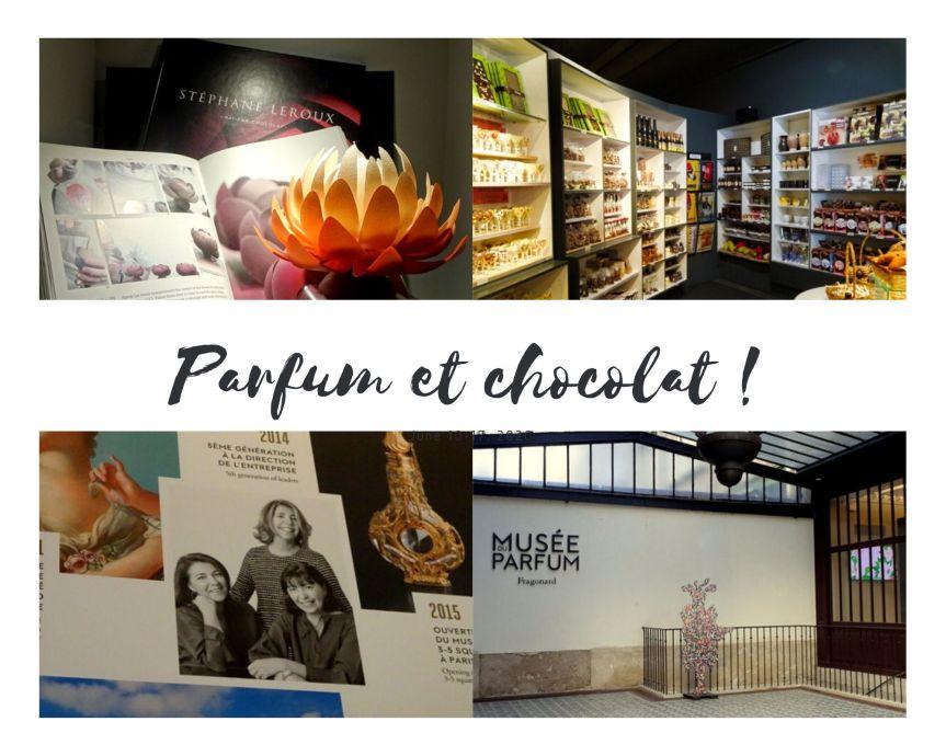 Parfum et chocolat…. A la découverte de musées parisiensoriginaux.