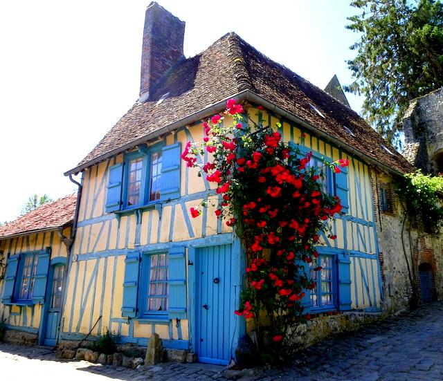 Escapade à Gerberoy, l'un des plus beaux villages deFrance