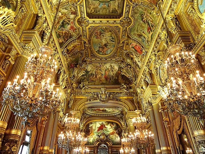 Visite guidée dans le luxe de l'OpéraGarnier
