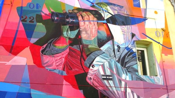 Street art à Sète : découvrir le MaCO (Musée à CielOuvert)