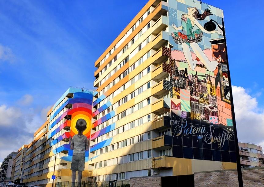 Street Art : le musée à ciel ouvert Boulevard Paris13