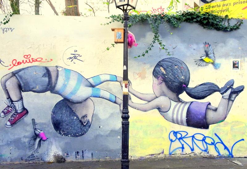 La Butte-aux-Cailles : Balade street art au cœur d'un quartierbohème