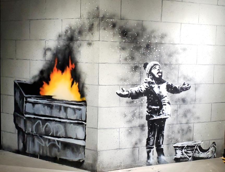 Visite parisienne street art dans l'univers deBanksy